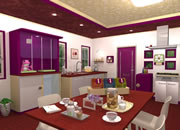 Fruit Kitchens No.26 Fig Purple