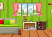 Greenish home escape