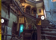 逃出废弃的大楼