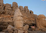 Escape From Mount Nemrut Statues