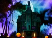 逃离吓人的万圣节墓地