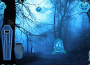 逃离恐怖万圣节森林