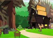逃离森林里的家