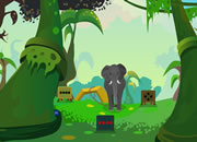 Jungle Elephant Escape