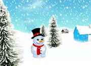Snowman Skateboard Escape