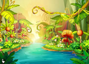 Fantasy Jungle Boy Escape