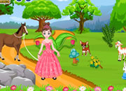 Princess Pinky Pets World Escape