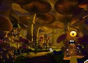 逃离外星人蘑菇森林