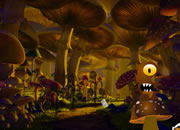 Alien Mushroom Forest Escape