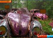 逃离森林报废汽车场