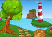 逃离椰子树海滨