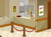 逃离汉堡小屋- 你去一个汉堡店里买汉堡,发现一个..