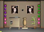 逃出日本女孩房间