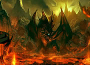 Escape from Fire Dragon Landscape