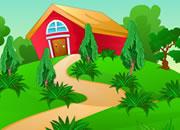 逃离花园房子