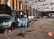 Escape From Abandoned Car Station