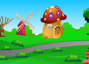 Mushroom House Lion Escape