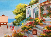 Seaside Painter Villa Escape