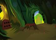 逃离昏暗山洞