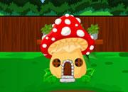 Mushroom House Frog Escape