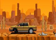 埃及沙漠汽车逃离