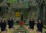 Monkey Temple Escape