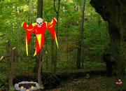 逃离红色印地安森林