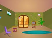 逃出漂亮的彩色房间
