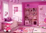 逃出现代儿童房间