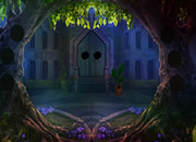 Violet Forest Castle Escape