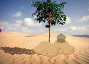 帮骆驼逃离沙漠