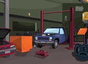 Car Repair Shop Escape