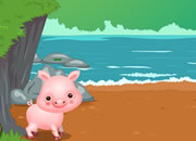 Naughty Pig Escape