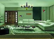 逃出可爱绿色房间