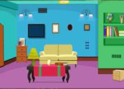 Cute Blue Room Escape