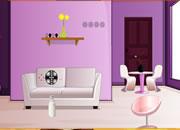 逃出可爱紫色房间