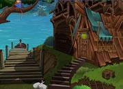 逃离湖中木屋