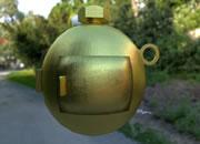 拆解金球炸弹