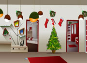 Toll Christmas Decor Room Escape