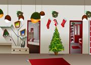 逃出圣诞节布置房间