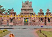 逃离印度密纳克西神庙