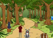 森林自行车逃离2