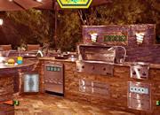 户外厨房-猫的逃脱