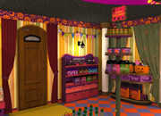 Escape Halloween Candy Shop