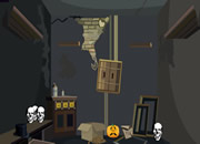 Halloween Skull Room Escape