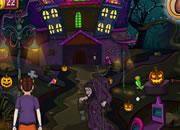 骷髅女巫房子