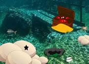Deep Under Sea Diamond Necklace Escape