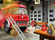 Fire Engine Room Escape