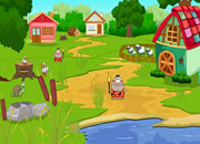 农场找钥匙招待客人