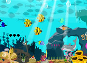 救美人鱼逃离海底城堡